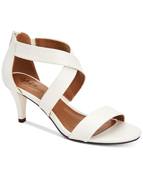 561977739 Style & Co Paysonn Dress Sandals, Created for Macys & Reviews ...