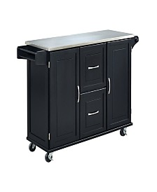 Home Styles Patriot Kitchen Cart