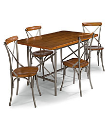 Home Styles Orleans 5PC Rectangular Dining Table Set with Chairs
