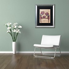 """Abril Andrade 'Nuestro Amor Eterno' Matted Framed Art, 16"""" x 20"""""""