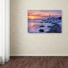 "Michael Blanchette Photography 'Winter Lights' Canvas Art, 30"" x 47"""