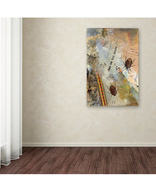 "Trademark Global Nick Bantock 'Ponte Sul' Canvas Art, 22"" x 32"""