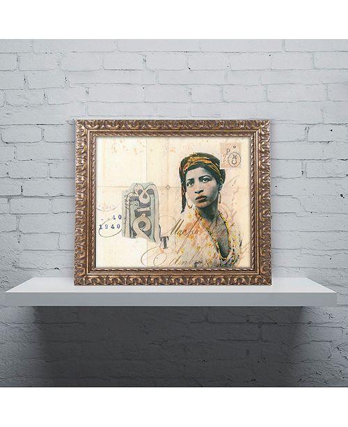 "Trademark Global Nick Bantock 'Ronda Maur' Ornate Framed Art, 16"" x 20"""