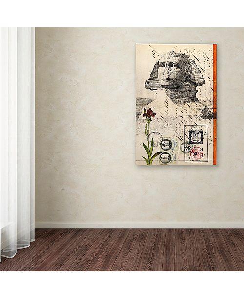 "Trademark Global Nick Bantock 'Sphinx' Canvas Art, 30"" x 47"""