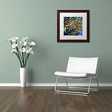 Nick Bantock 'Tree of Life' Matted Framed Art