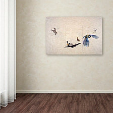 Nick Bantock 'Wings' Canvas Art