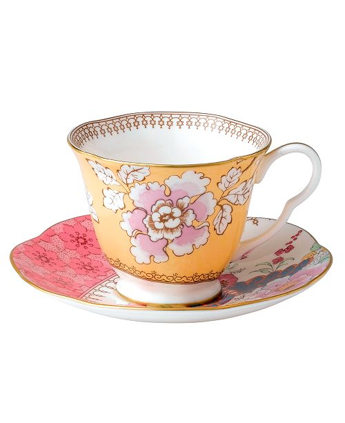 Wedgwood Floral Bouquet Cup and Saucer