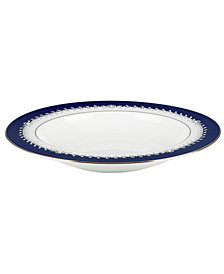 Marchesa by Lenox Dinnerware, Empire Indigo Rim Soup Bowl