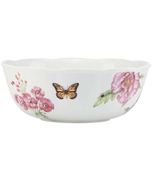 Lenox Dinnerware, Butterfly Meadow Bloom Serving Bowl