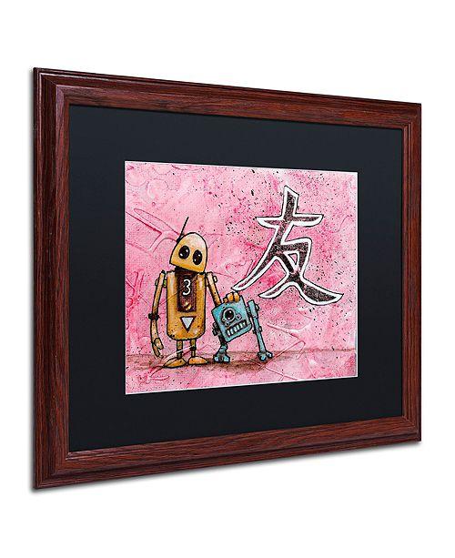 """Trademark Global Craig Snodgrass 'Friends' Matted Framed Art, 16"""" x 20"""""""