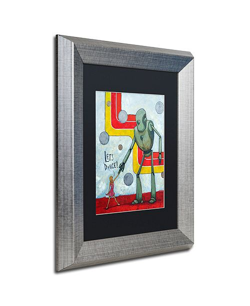 "Trademark Global Craig Snodgrass 'Let's Dance' Matted Framed Art, 11"" x 14"""