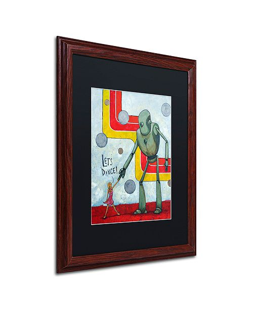 "Trademark Global Craig Snodgrass 'Let's Dance' Matted Framed Art, 16"" x 20"""