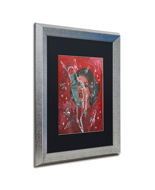 """Trademark Global Craig Snodgrass 'Blast-Off' Matted Framed Art, 16"""" x 20"""""""