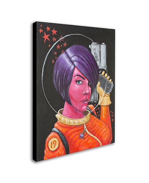 """Trademark Global Craig Snodgrass 'Josie-Jupiter' Canvas Art, 14"""" x 19"""""""