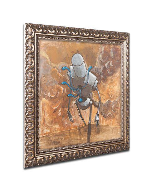 "Trademark Global Craig Snodgrass 'The Trooper' Ornate Framed Art, 16"" x 16"""