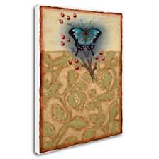 """Rachel Paxton 'Salt Meadow Butterfly' Canvas Art, 14"""" x 19"""""""