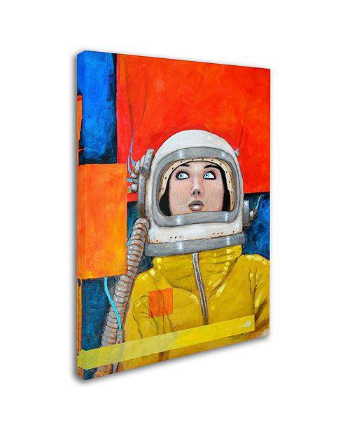 "Trademark Global Craig Snodgrass 'Interstellar-inga' Canvas Art, 22"" x 32"""