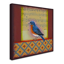 Rachel Paxton 'Bluebird' Canvas Art