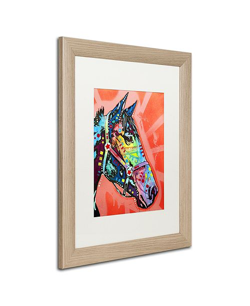 "Trademark Global Dean Russo 'WC Horse 3' Matted Framed Art, 16"" x 20"""