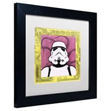 """Dean Russo 'Stormtrooper' Matted Framed Art, 11"""" x 11"""""""
