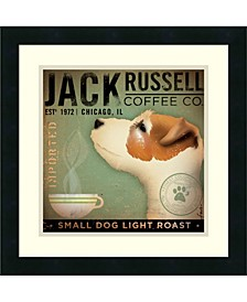 Jack Russell Coffee Co. Framed Art Print