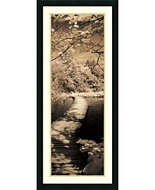 Amanti Art A Quiet Stroll II  Framed Art Print
