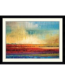 Horizons I Framed Art Print