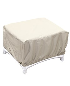 Outdoor  Patio Furniture Cover, Large Ottoman, Quick Ship