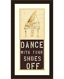 Amanti Art Dance With Your Shoes Off  Framed Art Print