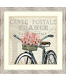 Paris Ride II Framed Art Print