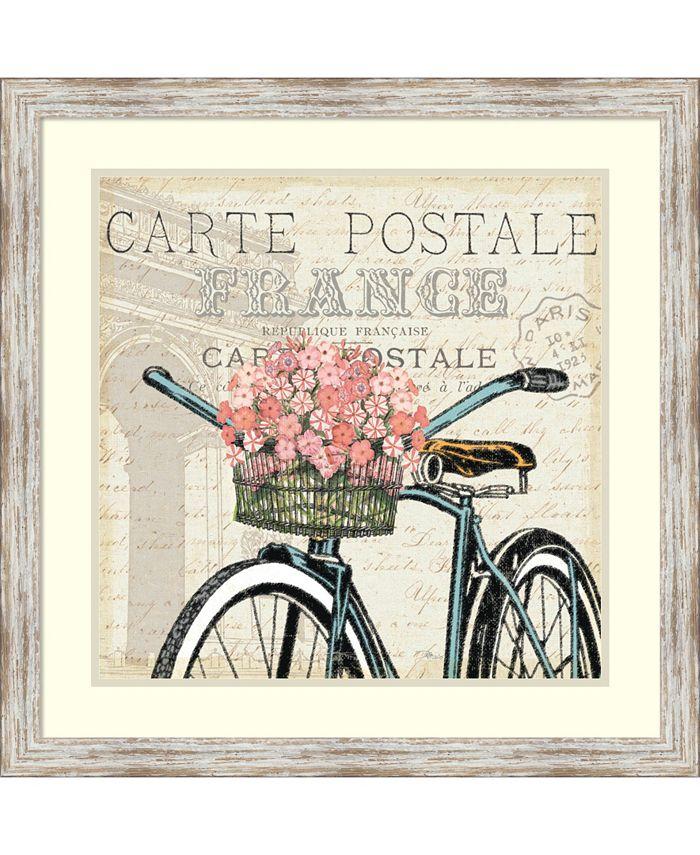 Amanti Art - Paris Ride II 27x27 Framed Art Print
