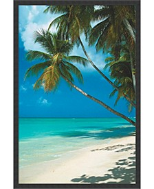 Tropical Beach - Framed Art Print