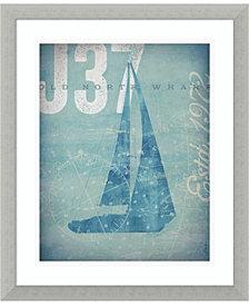 Amanti Art Nautical III- Sailboat Framed Art Print