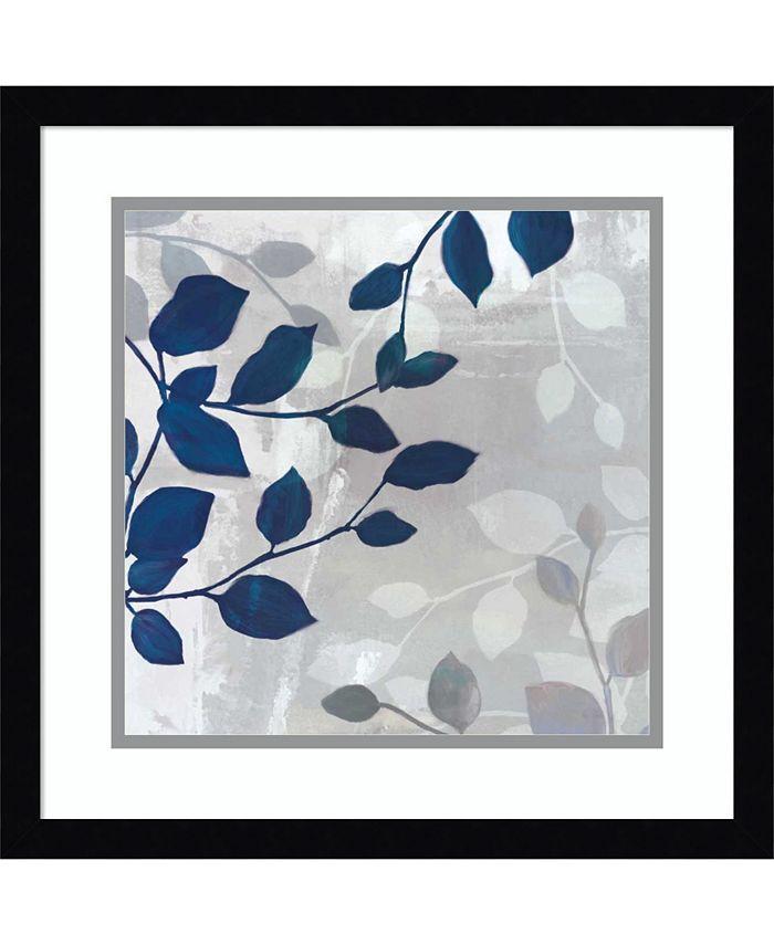 Amanti Art - Leaves in the Mist II 17x17 Framed Art Print