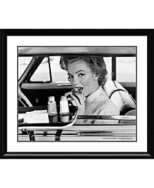 Amanti Art Marilyn Monroe At The Drive-In, 1952  Framed Art Print