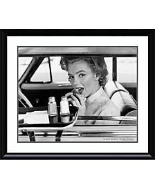 Amanti Art Marilyn Monroe At The Drive-In, 1952  Framed Art Print