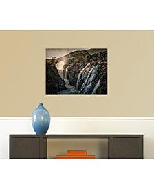 Amanti Art Slash 20x13 Canvas Art Gallery Wrap