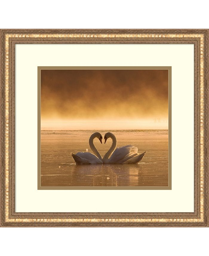 Amanti Art - Lovers 19x18 Framed Art Print