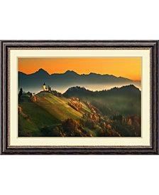 Amanti Art Slovenian Autumn  Framed Art Print