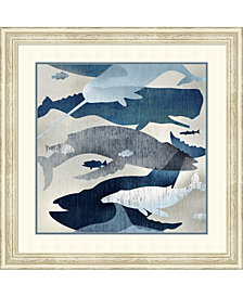 Amanti Art Whale Watching I Framed Art Print