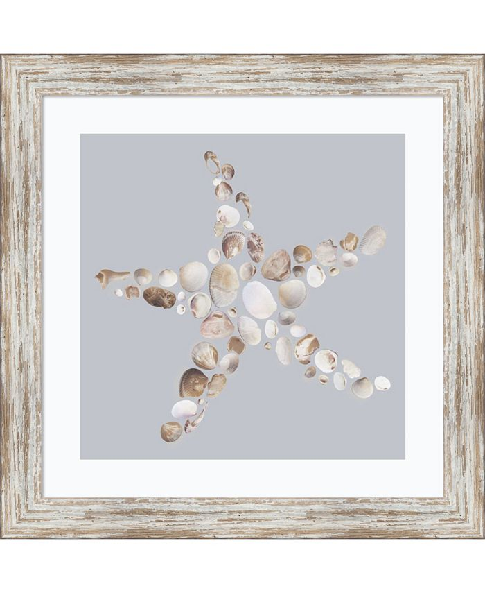 Amanti Art - Starfish 18x18 Framed Art Print