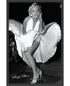Amanti Art Marilyn In New York, 1954 Framed Art Print