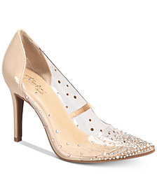 Thalia Sodi Grazella Vinyl Pumps, Created for Macy's