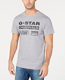 G-Star RAW Men's Logo Print T-Shirt, Created for Macy's