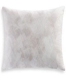Hotel Collection Lateral Cotton 400-Thread Count European Sham, Created for Macy's