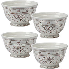 Certified International Terra Nova 4-Pc. Ice Cream Bowl
