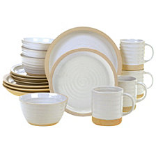 Certified International Artisan 16-Pc. Dinnerware Set