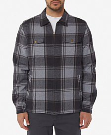 O'Neill Men's Lodge Plaid Flannel Jacket