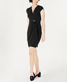 Charter Club Surplice Wrap Dress, Created for Macy's