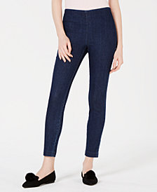 Maison Jules Pull-On Jeggings, Created for Macy's